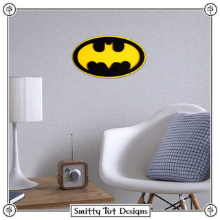 Batman Metal Wall Plaque!