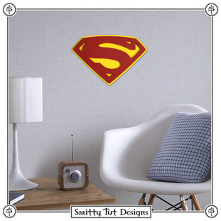 Superman Metal Wall Plaque!