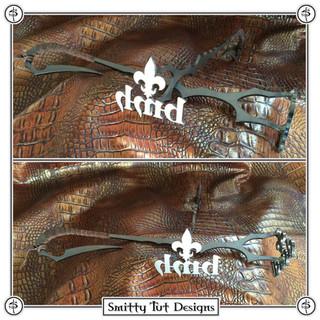 Custom branding irons made for Blake at BMH Knives.