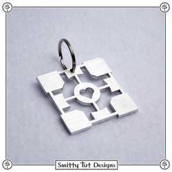 Halflife-Companion-Cube-Keychain