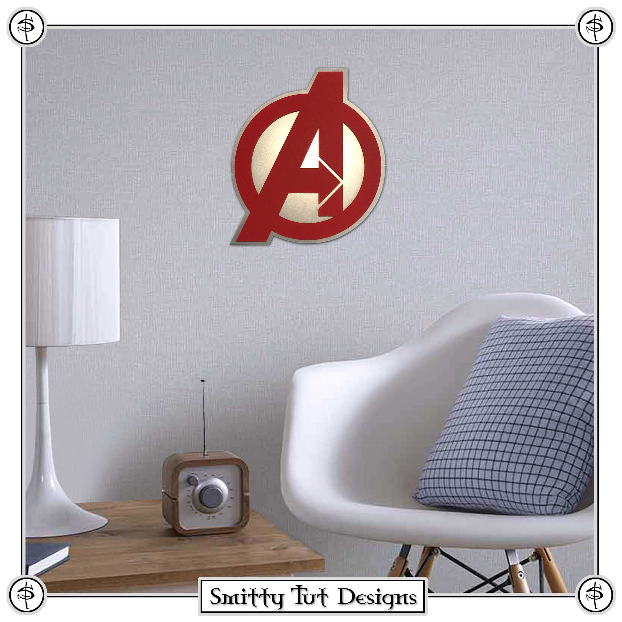 Avengers-Wall