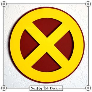 X-Men Magnetic Metal Wall Plaque!