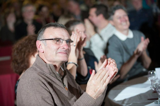 Appreciative audience