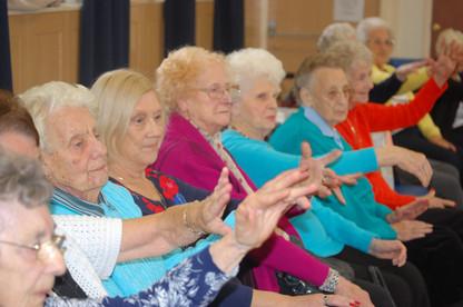 Over 55's Northern Ballet workshop