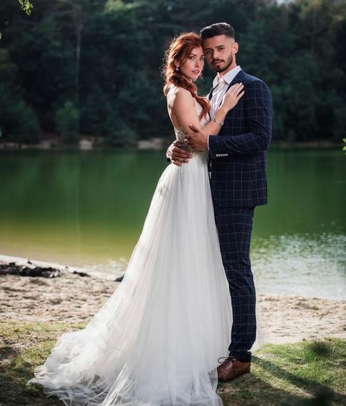 Couple Danique & Edo for Enzoani bridal