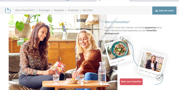 Powerslim campaign -firstpage