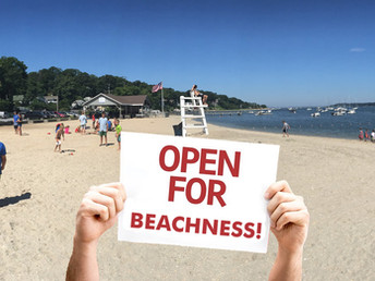 The Beach is OPEN! Here's What You Need to Know.