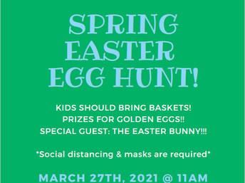 HBCA Spring Egg Hunt