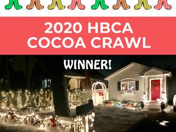 HBCA 2020 Cocoa Crawl Winner!