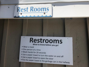 Restrooms Now Open