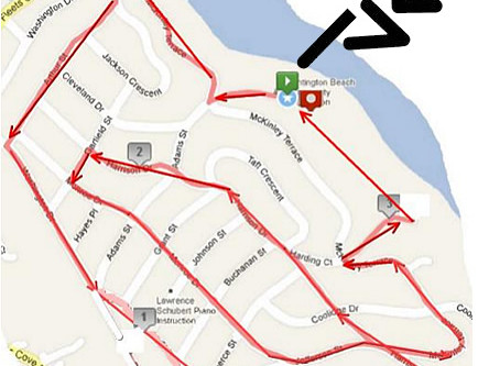 """HBCA 5K Race/Walk - October 5th  """"These Hills Are a Beach!"""""""