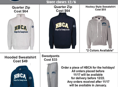 Give a piece of HBCA this holiday season