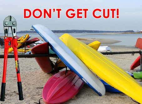 The Kayak/Dinghy Purge is Coming - Saturday, August 18th