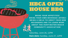 HBCA Open House BBQ - June 26th