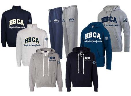 The HBCA Apparel Store is OPEN