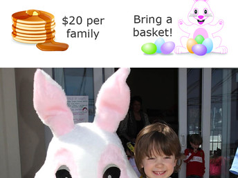 Pancake Breakfast & Spring Egg Hunt