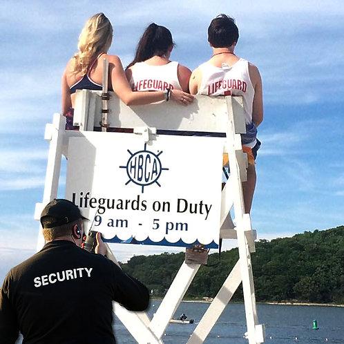 2020 Premiere Beach Membership Package (includes security)