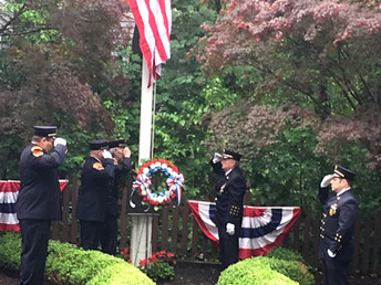 CFD Memorial Day Procession & Ceremony May 27th at 9:30am