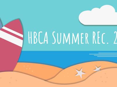 Summer Rec 2021 Info