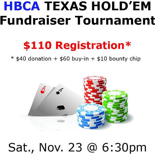 Poker Pre-Registration (click here)