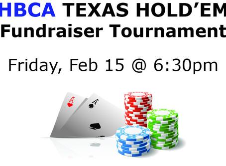 Winter Texas Hold'em Fundraiser Tournament
