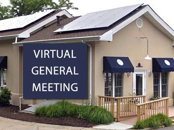 (Online) General Meeting - Thursday, November 5th @7:30
