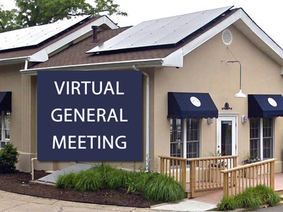 (Online) General Meeting - Thursday, May 6th @ 7:30pm