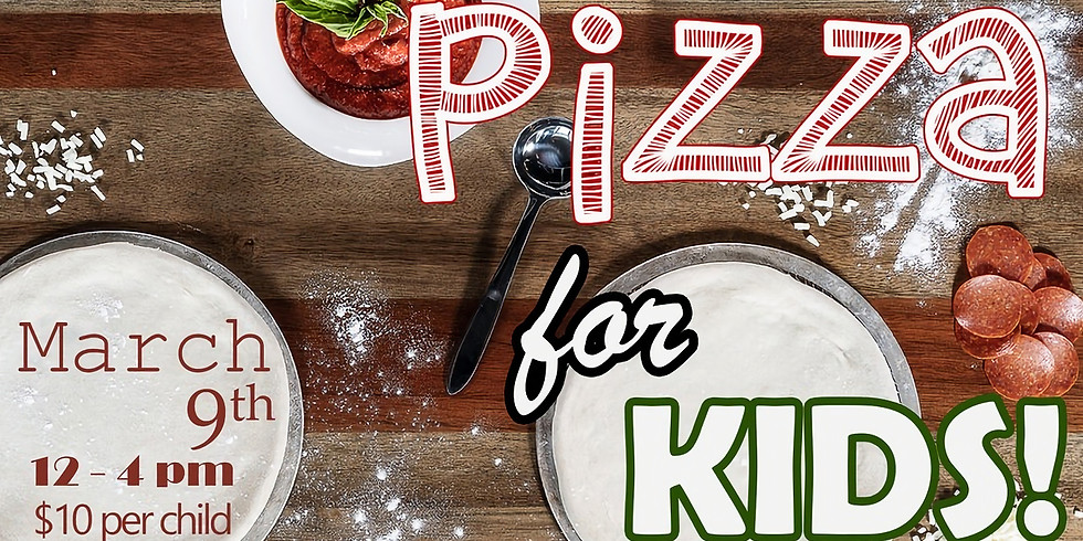 KIDS BUILD YOUR PIZZA DAY