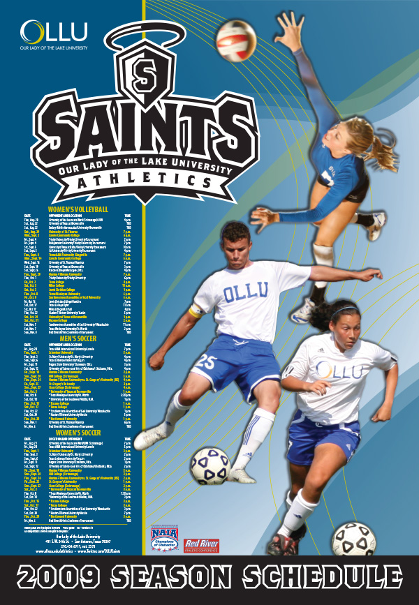 2009 OLLU Athletics Calendar