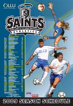 2009 OLLU Athletics Calendar