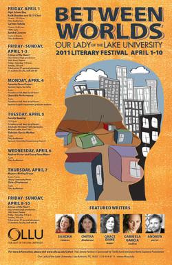 2011 OLLU Literary Festival Poster