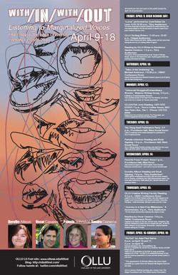 2010 OLLU Literary Festival Poster