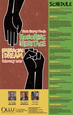 2015 OLLU Black History Month