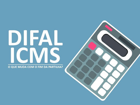 Difal do ICMS