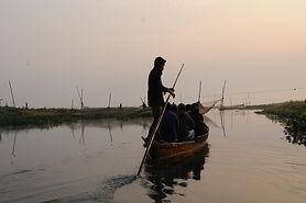 Birding by Boat in Maguri Bheel, Assam.J