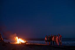 Ceremonia Fuego Playa    Bambuddha Acapulco   Centro Holístico