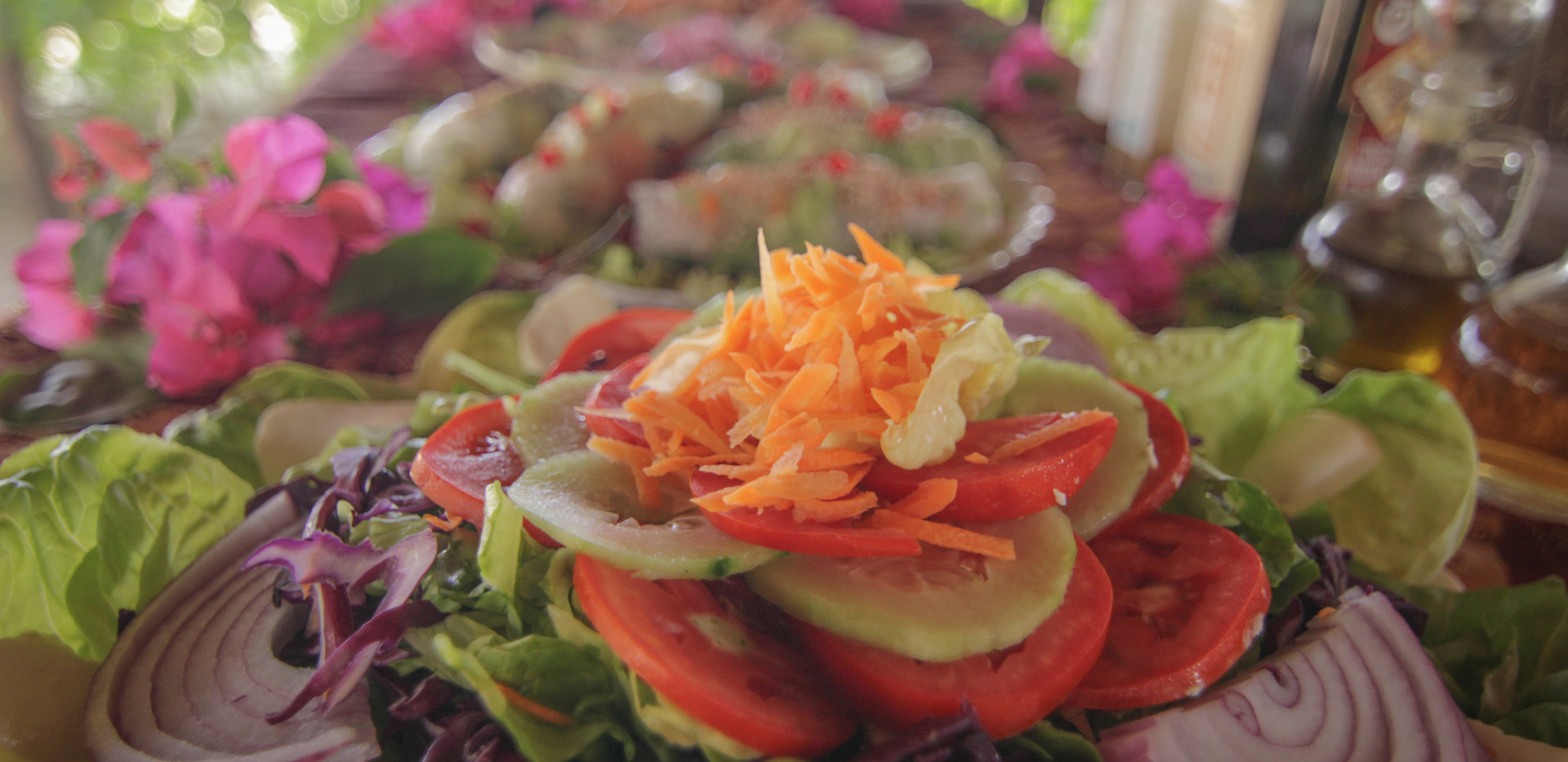 Comida Vegetariana Bambuddha Holistic Ce