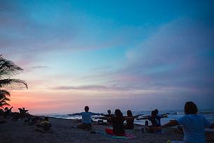 Meditación Playa Bambuddha Holistic Cent