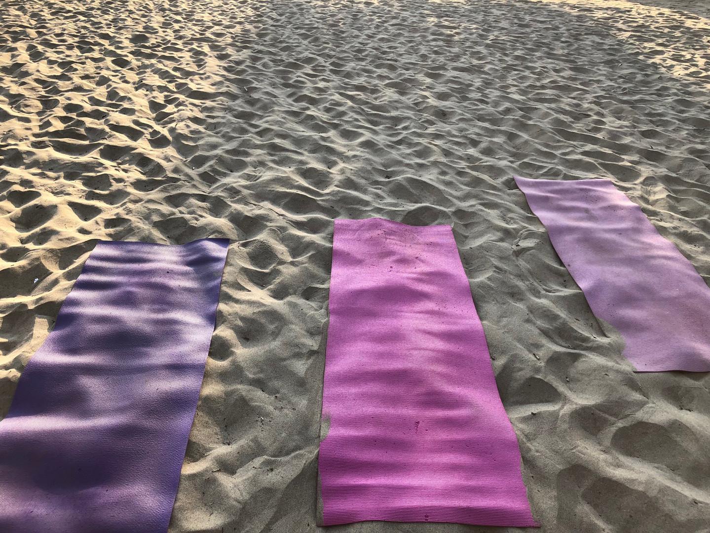 Beach Yoga Bambuddha Holistic Center.JPG