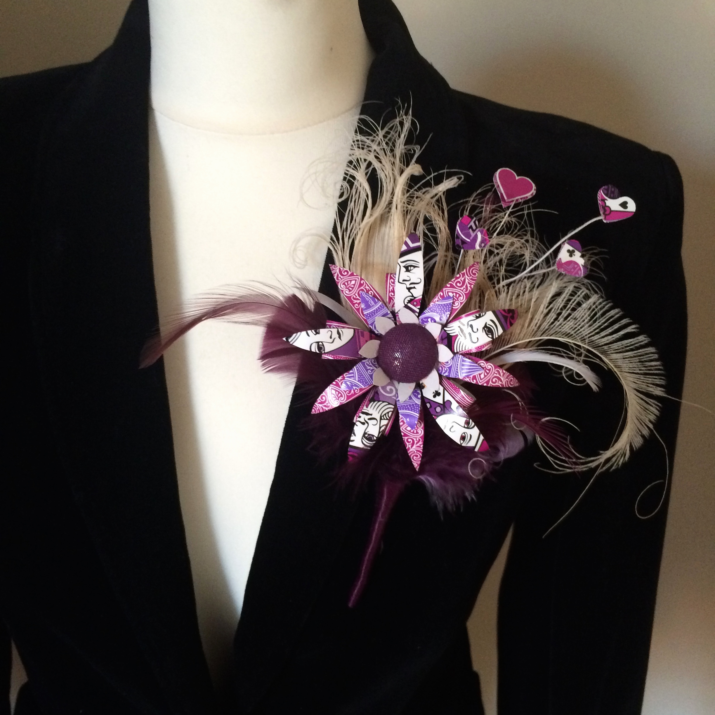 Berry Buttonhole