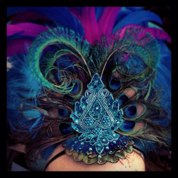Rio Carnival Headpiece