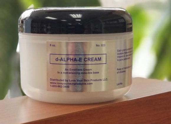 Vitamin E Cream (d-Alpha E tocopheryl acetate) Jar