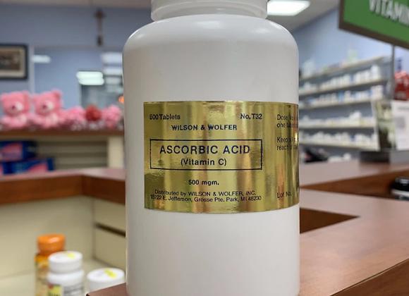 Vitamin C (time release ascorbic acid)