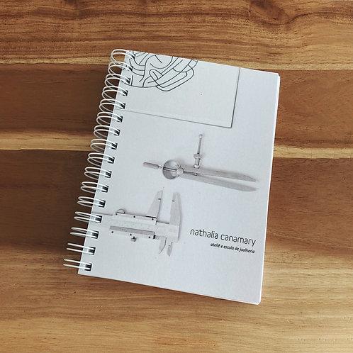 Caderno curso de joalheria