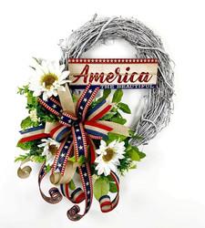 America MINI Wreath