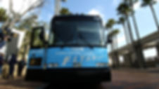 Flyaway bus