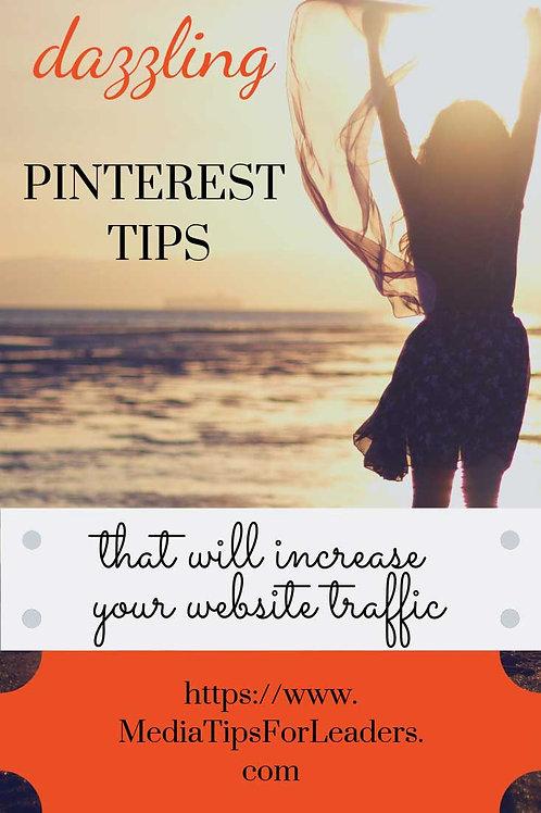Steps to a Pinterest Presence online