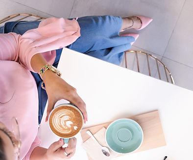 Canva - Woman Holding Mug With Coffee Si