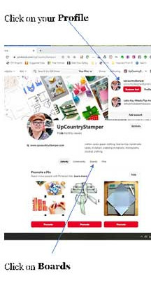 Pinterest Sections and Pin Codes