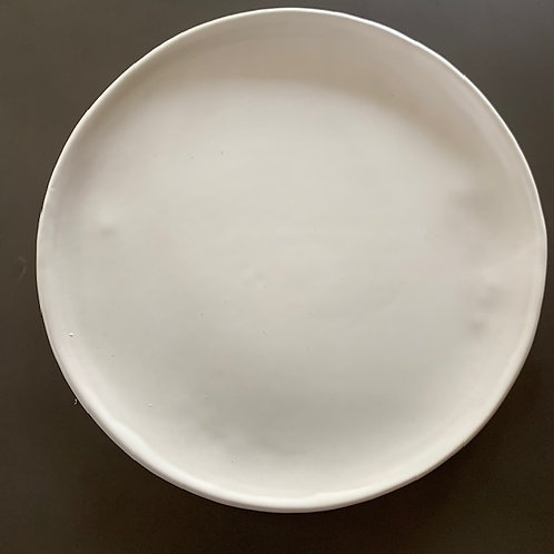 The White Serving Platter
